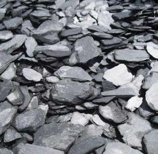 Ardoise Paillettes Noir Concassée 20‑50