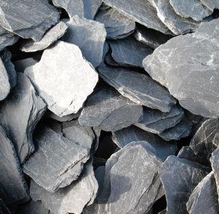 Ardoise Paillettes Noir Concassée 50‑100