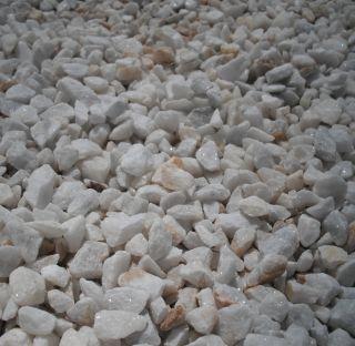 Gravier Blanc Concassé Cristal 12‑18