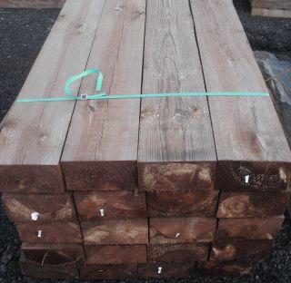 Traverse Bois Traitée Rustique 2400x220x120